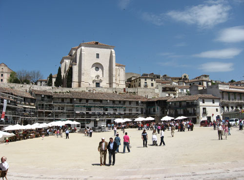 plaza mayor chinchon
