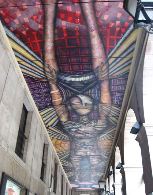 graffiti bilbao