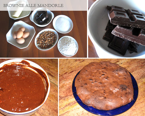 brownie alle mandorle
