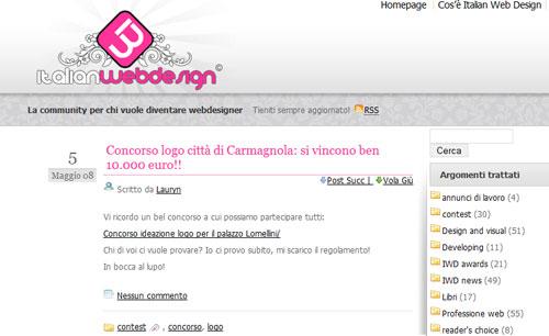 italian web design