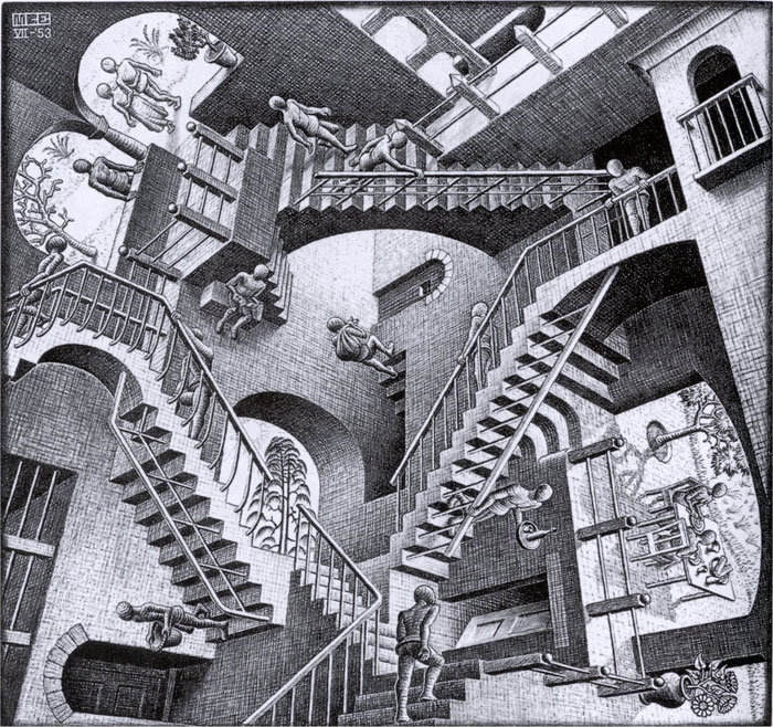 escher ascending and descending