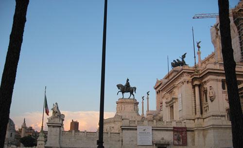 Roma, il Vittoriano