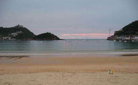 san sebastian spiaggia