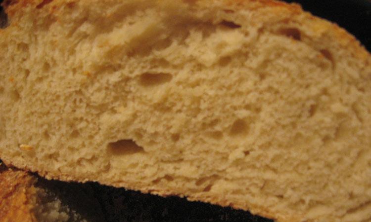 pane senza impastare
