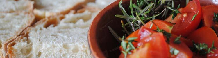 crostini pomodoro