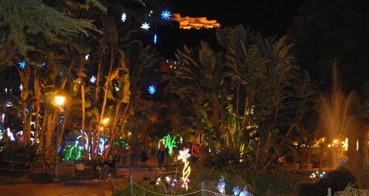 luci d'artista salerno castello arechi