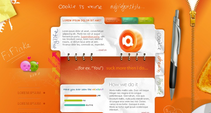 come realizzare siti web e vivere felici